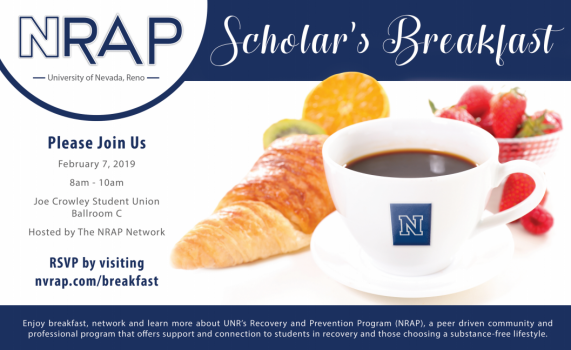 NRAP Scholar's Breakfast Announcement