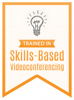 Skills Based Video Conferencing Badge