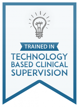 Badge for - Trained In Technology Based Clinical Supervision
