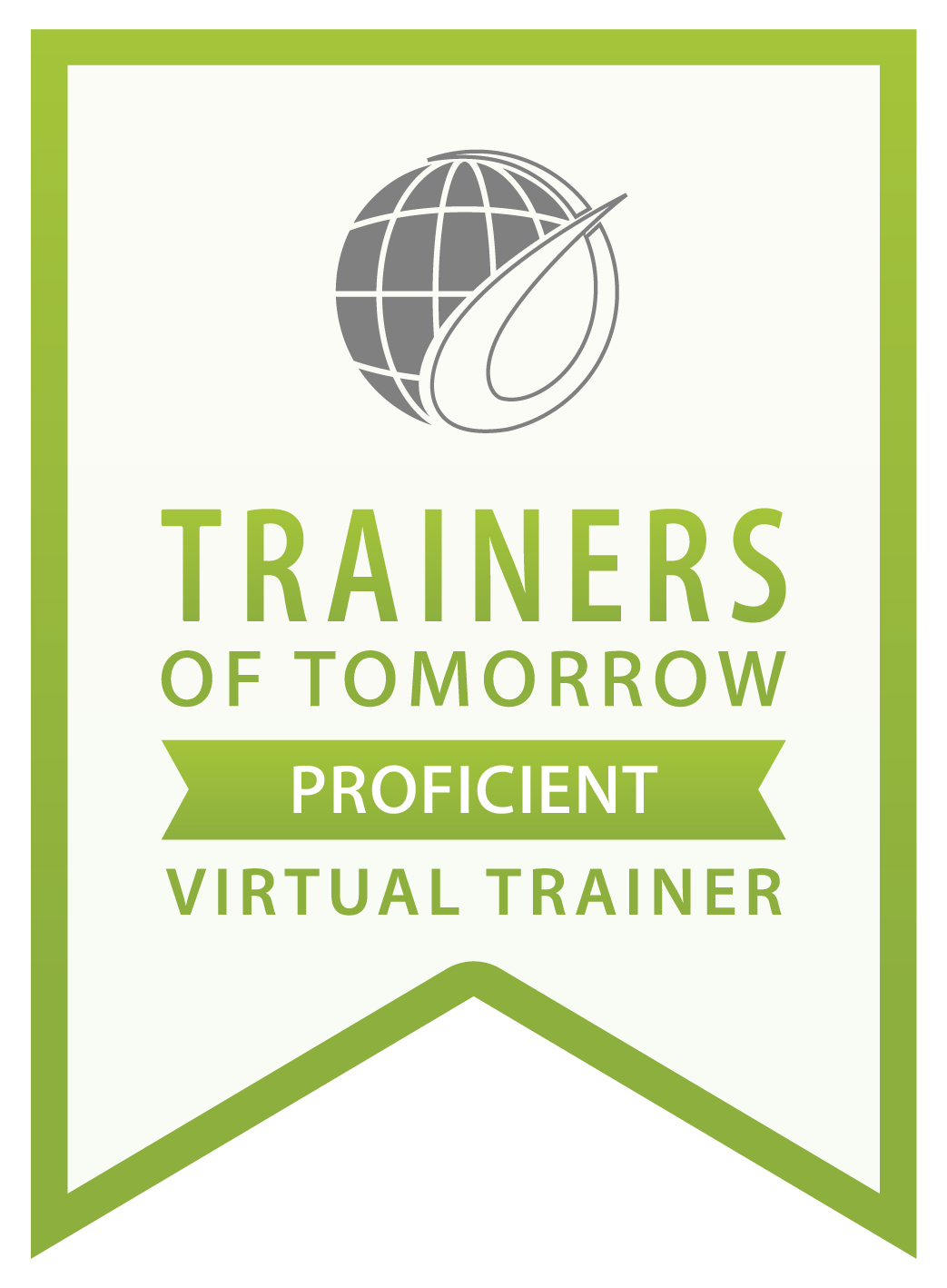 Trainers of Tomorrow Proficient Virtual Trainer Badge