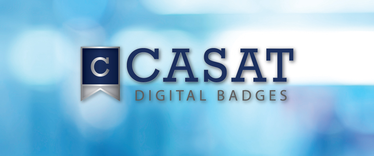 CASAT Digital Badges header